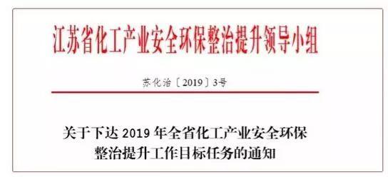 计划关闭1431家企业,9个化工园区(集中区),江苏的铁腕手段!