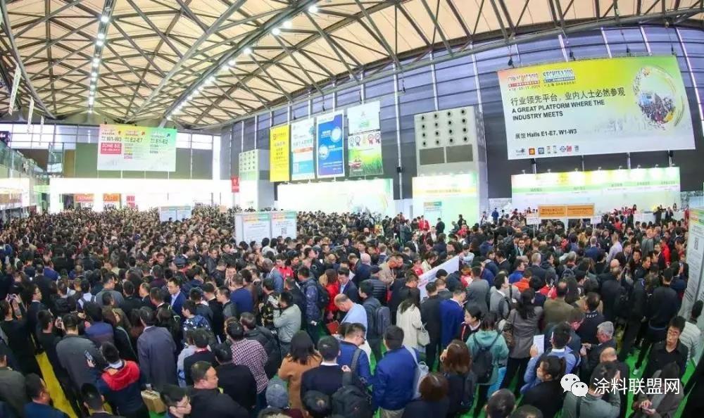 人从众𠈌系列 | 上海国际涂料展观众数据再增长!