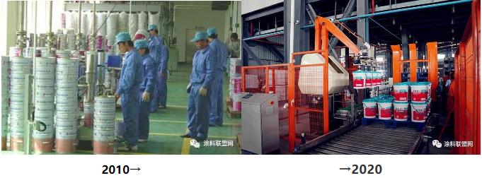 机械化的时代 涂料工人没有稳定的工作 只有稳定的能力