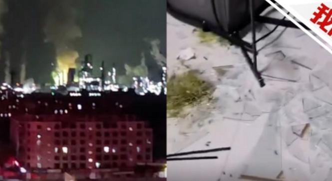 爆炸!石家庄化工厂深夜冒出大火球伴随巨响,周边房屋玻璃震碎!